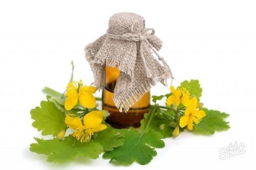 Масло чистотела