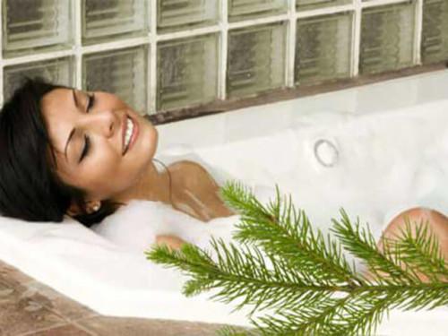 Сосновая ванна для здоровья