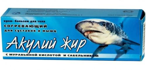 Акулий жир с Муравьиной кислотой крем