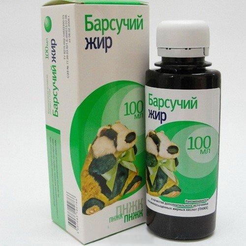 Барсучий жир от кашля