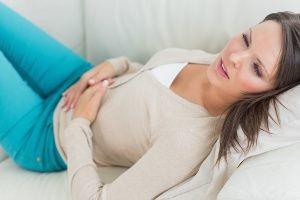 Мазня за неделю до месячных может ли быть беременность