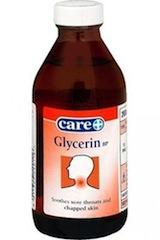 Применение глицерина от кашля