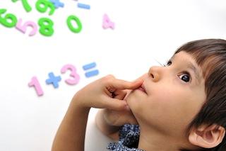 Ребенок не может запомнить цифры