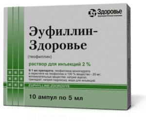 Эуфиллин во время беременности
