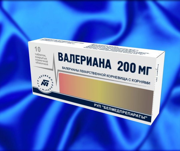 фото валерьянка в таблетках