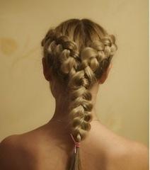 детские прически для девочек на каждый день французская коса наоборот