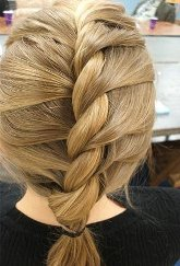как красиво заплести длинные волосы жгуты и французская коса