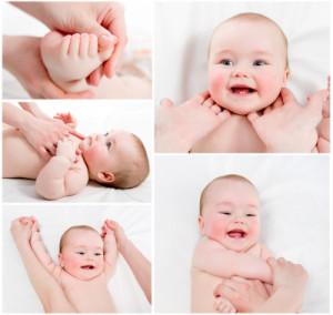массаж детский