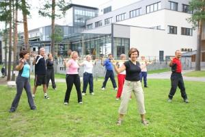 физические упражнения от давления